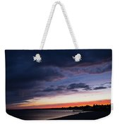 The Day Rests Weekender Tote Bag