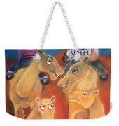The Day The Tourists Came Weekender Tote Bag
