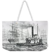 The Days Of Steam And Sail Weekender Tote Bag