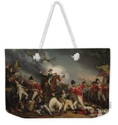 The Death Of General Mercer At The Battle Of Princeton, January 3, 1777  Weekender Tote Bag