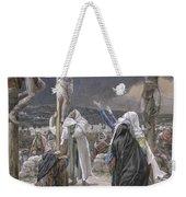 The Death Of Jesus Weekender Tote Bag