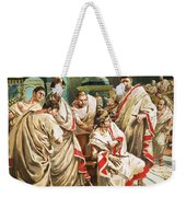 The Death Of Julius Caesar  Weekender Tote Bag