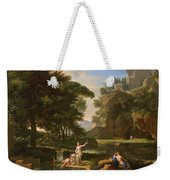 The Death Of Narcissus Weekender Tote Bag