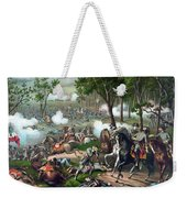 The Death Of Stonewall Jackson Weekender Tote Bag