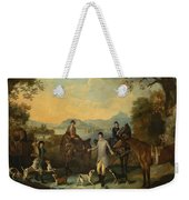 The Death Of The Hare Weekender Tote Bag