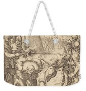 The Decapitated Weekender Tote Bag