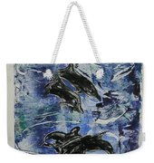 The Deep Sea Weekender Tote Bag
