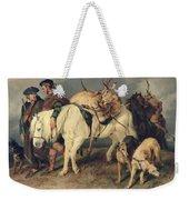 The Deerstalkers Return Weekender Tote Bag by Sir Edwin Landseer