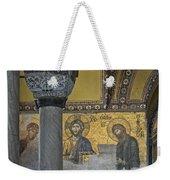 The Deesis Mosaic With Christ As Ruler At Hagia Sophia Weekender Tote Bag