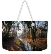 The Delaware Canal In New Hope Pa Weekender Tote Bag