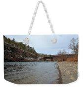 The Delaware River Weekender Tote Bag