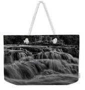 The Dells Of The Eau Claire Panoramic Weekender Tote Bag