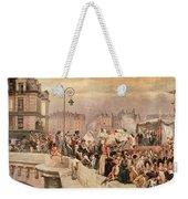 The Departure Of The Volunteers 1792 Weekender Tote Bag