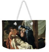 The Deposition Weekender Tote Bag by Nicolas Poussin