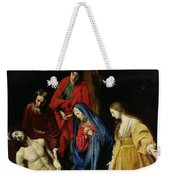 The Descent From The Cross Weekender Tote Bag by Nicolas Tournier