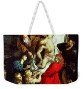 The Descent From The Cross Weekender Tote Bag