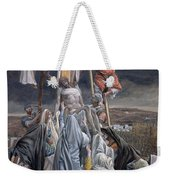 The Descent From The Cross Weekender Tote Bag by Tissot