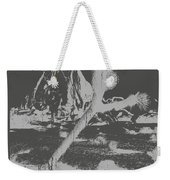 The Desert Is Calling And I Must Go - Gray Weekender Tote Bag