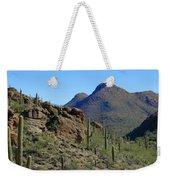 The Desert Mountains Weekender Tote Bag