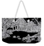 The Deserted Cabin At Night Weekender Tote Bag