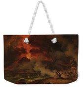 The Destruction Of Pompeii Weekender Tote Bag