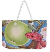 The Devil And Granny Smith Weekender Tote Bag