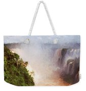 The Devil's Throat Weekender Tote Bag