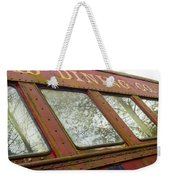 The Dining Car Weekender Tote Bag