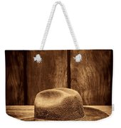 The Dirty Brown Hat Weekender Tote Bag