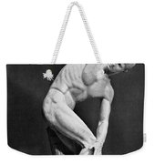 The Discobolus, 450.b.c Weekender Tote Bag