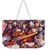 The Distortion Of The Muse Weekender Tote Bag