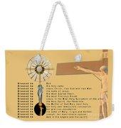 The Divine Praises Weekender Tote Bag