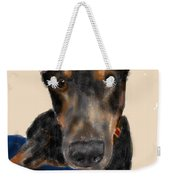 The Doberman Weekender Tote Bag
