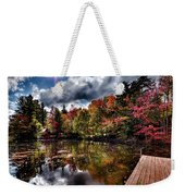 The Dock At The Boathouse Weekender Tote Bag