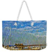 The Dock Of The Bay Weekender Tote Bag