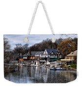 The Docks At Boathouse Row - Philadelphia Weekender Tote Bag