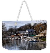 The Docks At Boathouse Row - Philadelphia Weekender Tote Bag