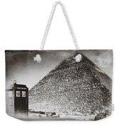 The Doctor Travels Weekender Tote Bag