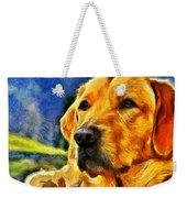 The Dog Weekender Tote Bag