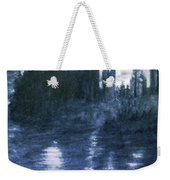The Dolceacque Castle In Pencil Weekender Tote Bag