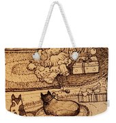 The Doll, The Kitties And The Gingerbread Boy Weekender Tote Bag