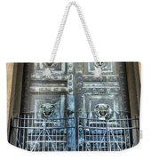 The Door At The Parthenon In Nashville Tennessee Weekender Tote Bag