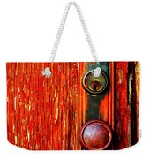 The Door Handle  Weekender Tote Bag