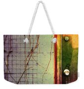 The Door The Wall And The Weeds Weekender Tote Bag
