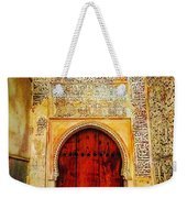 The Door To Alhambra Weekender Tote Bag