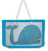The Dotted Whale Weekender Tote Bag by Deborah Boyd