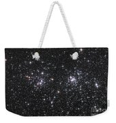 The Double Cluster, Ngc 884 And Ngc 869 Weekender Tote Bag