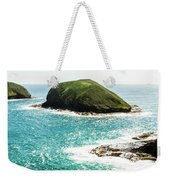 The Doughboys Island Landscape Weekender Tote Bag