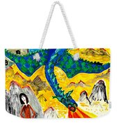 The Dragon Weekender Tote Bag by Sushila Burgess