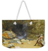 The Dragon's Cave Weekender Tote Bag